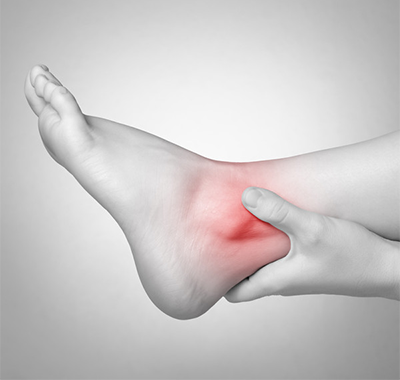 ankle inflammation